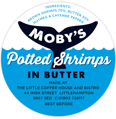 Moby's Potted Shrimps